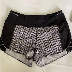 Lululemon Real Quick short *perforated